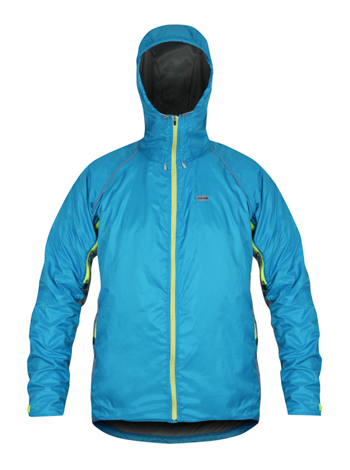 Gibb Outdoors - Quito Jacket neon blue/steel