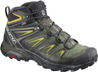 Salomon-X Ultra 3 Wide Mid GTX.