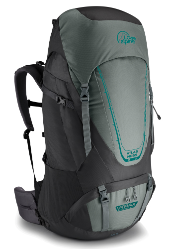 Gibb Outdoors - Lowe Alpine Atlas ND 65 Greystone / Iron Grey