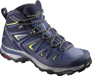 Salomon- X Ultra Wide mid GTX.